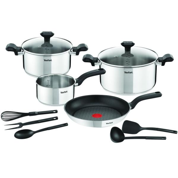 Набор посуды (нержавейка) Tefal Comfort Max Set 11шт. (C973SB34)
