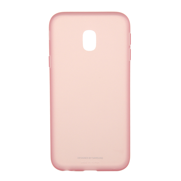 Чехол для сотового телефона Samsung Galaxy J3 (2017) Jelly Pink (EF-AJ330TPEGRU) чехол для сотового телефона takeit для samsung galaxy a3 2017 metal slim металлик