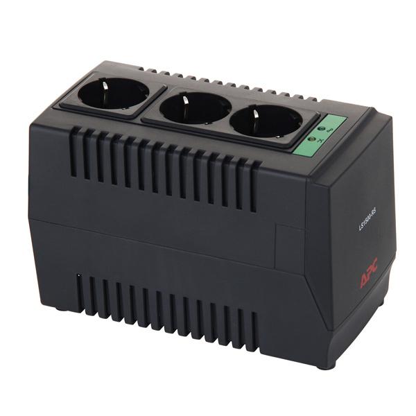 Стабилизатор напряжения APC LS1500-RS Line-R стабилизатор напряжения apc line r ls1500 rs 3 розетки 1 м черный