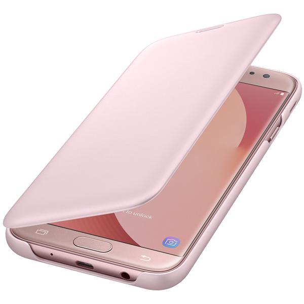 Чехол для сотового телефона Samsung Galaxy J7 (2017) Wallet Pink (EF-WJ730CPEGRU) чехол для сотового телефона takeit для samsung galaxy a3 2017 metal slim металлик