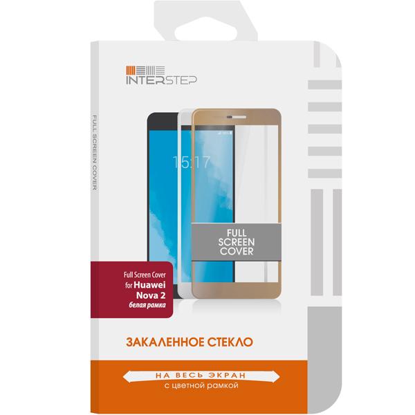 Защитное стекло InterStep для Huawei Nova 2 White (IS-TG-HUANOVA2W-000B201) беспроводная акустика interstep sbs 150 funnybunny blue is ls sbs150blu 000b201