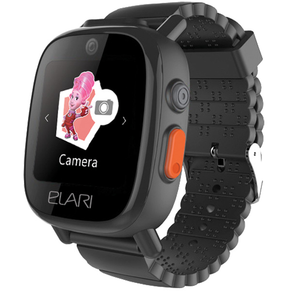 Часы с GPS трекером Elari FixiTime3 Black (FT-301)