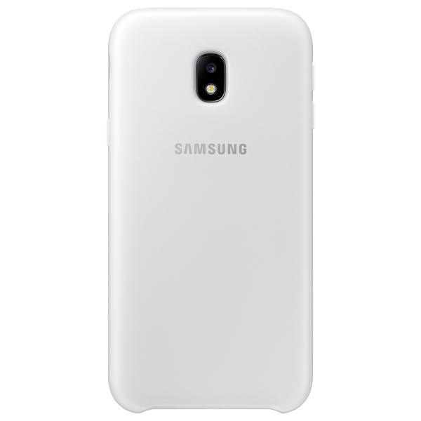 Чехол для сотового телефона Samsung Galaxy J3 (2017) Dual Layer White (EFPJ330CWEGRU) чехол для сотового телефона takeit для samsung galaxy a3 2017 metal slim металлик