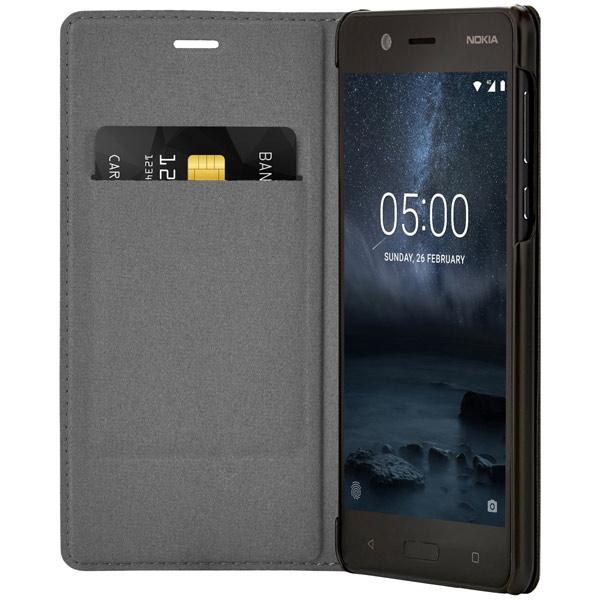Чехол для сотового телефона Nokia 5 Black (СР-302) аксессуар чехол книжка norton 5 5 6 inch универсальный на клейкой основе с выдвижным механизмом black