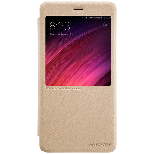 все цены на  Чехол для сотового телефона Nillkin Sparkle Leather Case для Xiaomi Redmi Note 4X  онлайн