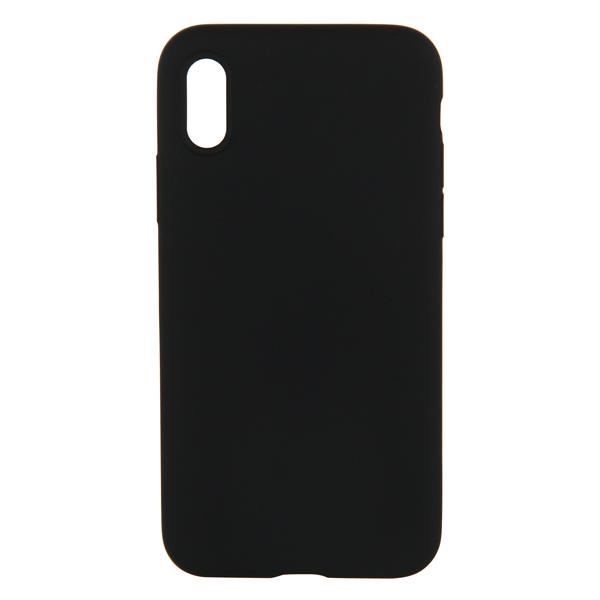 Кейс для iPhone Vipe для iPhone X черный (VPIPXCOLBLK) кейс для iphone vipe для iphone 7 woozy черный vpip7woozyblk2