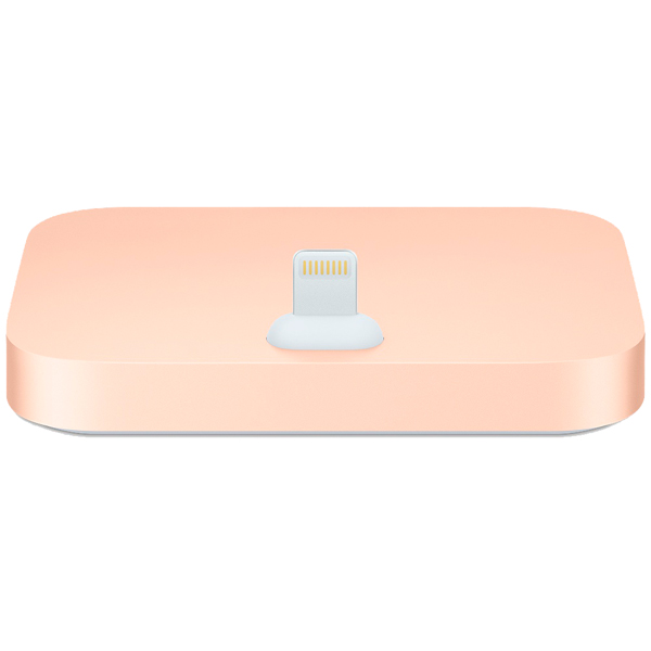 Док-станция для телефона Apple iPhone Lightning Dock Gold (MQHX2ZM/A) док станция для телефона apple iphone lightning dock mgrm2zm a