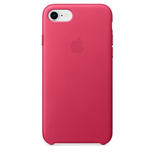 все цены на  Кейс для iPhone Apple iPhone 8 / 7 Leather Pink Fuchsia (MQHG2ZM/A)  онлайн