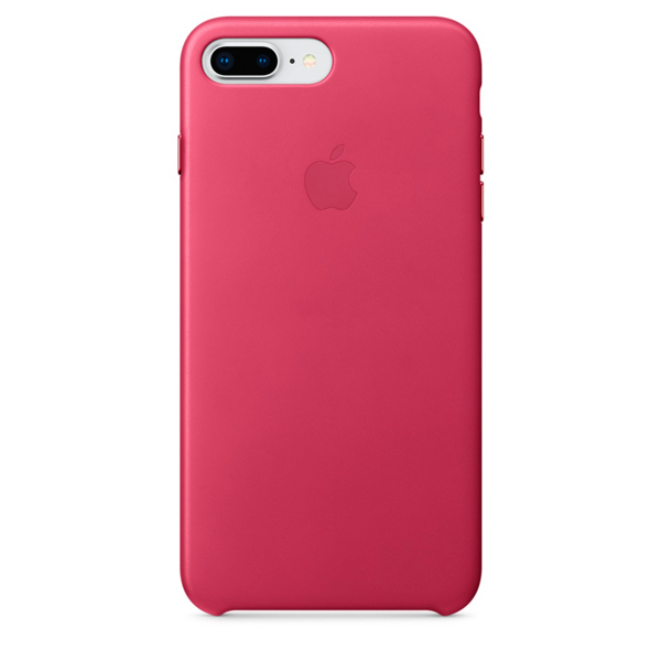 все цены на  Кейс для iPhone Apple iPhone 8 Plus / 7 Plus Leather Pink Fuchsia  онлайн