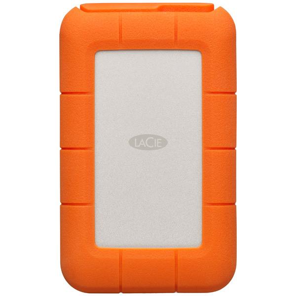 Внешний жесткий диск с Thunderbolt LaCie 4TB Rugged Thunderbolt USB-C (STFS4000800)