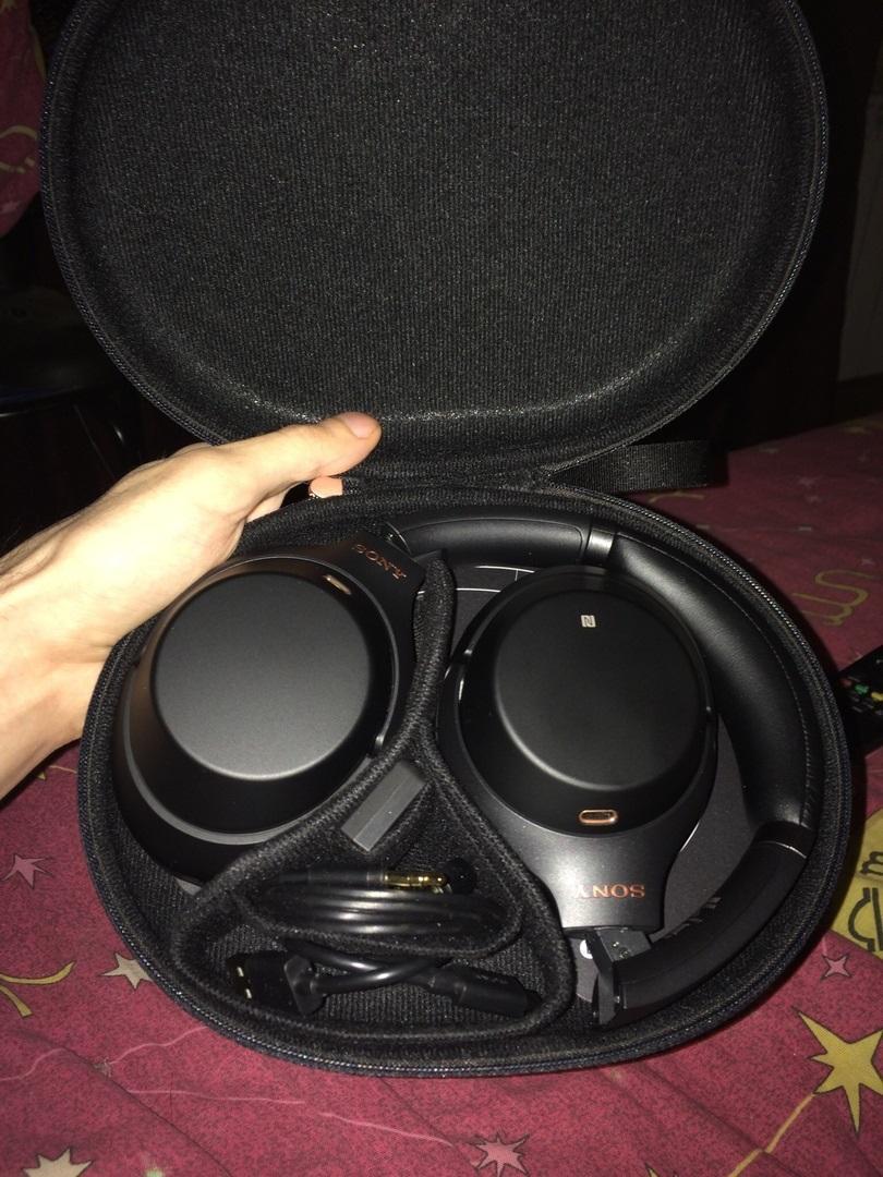 Купить Наушники Bluetooth Sony WH-1000XM3 Black в каталоге интернет ... abd30b3c37356