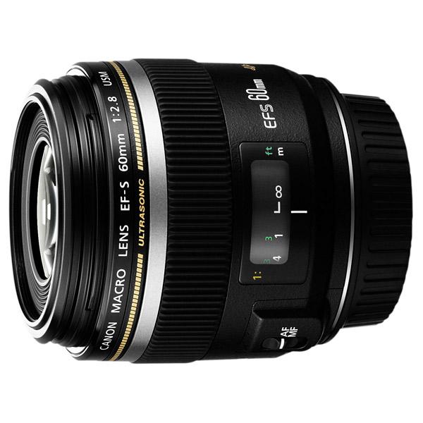Объектив Canon EFS60mm f/2.8 Macro USM slr объектив uv canon efs 18 200mm f 3 5 5 6 is