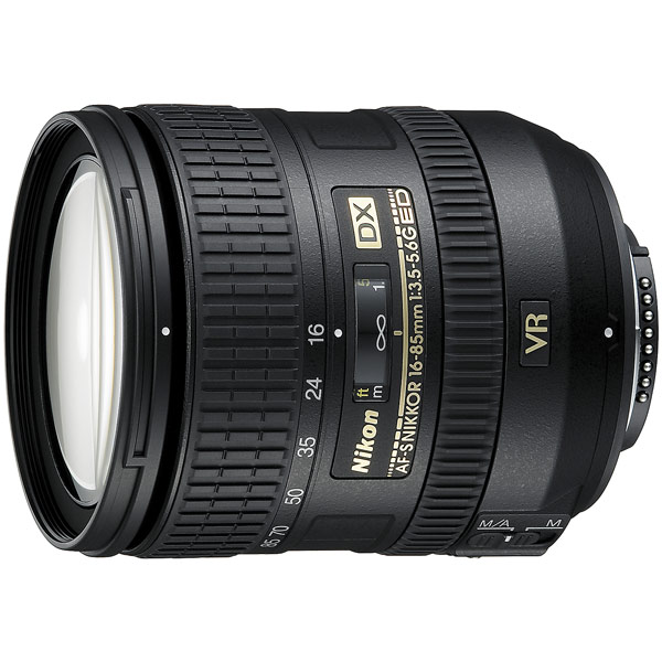 Объектив Nikon AF-S DX Nikkor 16-85mm f/3.5-5.6G ED VR free shipping new and original for niko lens af s nikkor 70 200mm f 2 8g ed vr 70 200 protector ring unit 1c999 172