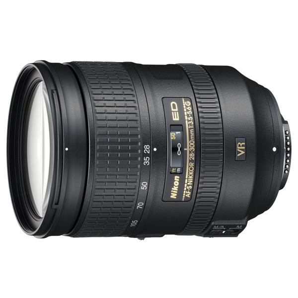Объектив Nikon AF-S Nikkor 28-300mm f/3.5-5.6G ED VR объектив nikon af p dx nikkor 18 55 mm f 3 5 5 6g vr