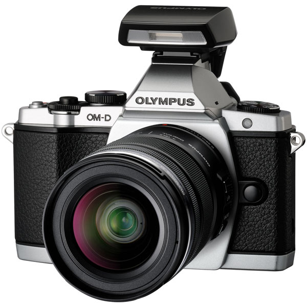 Фотоаппарат системный премиум OM-D E-M5 12-50 Kit Silver Olympus 4545350040420