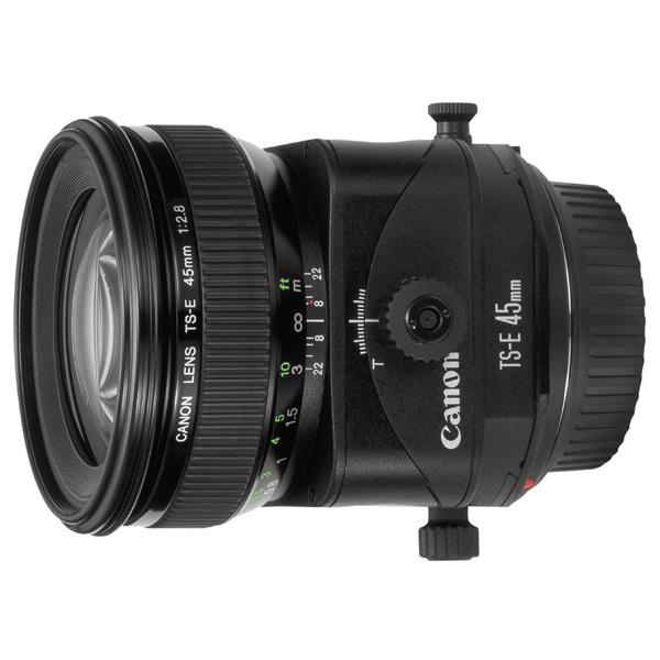 Объектив премиум Canon TS-E 45 F2.8 черного цвета