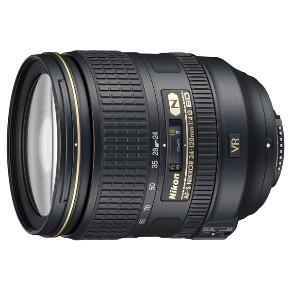 Объектив премиум Nikon AF-S NIKKOR 24-120mm f/4G ED VR free shipping new and original for niko lens af s nikkor 70 200mm f 2 8g ed vr 70 200 protector ring unit 1c999 172