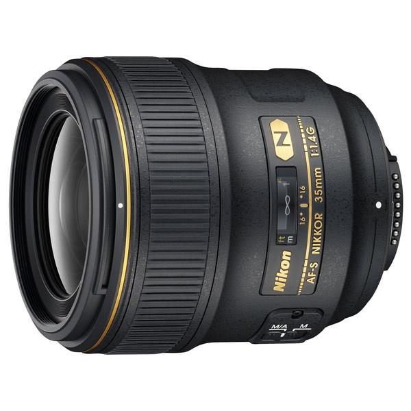 Объектив премиум Nikon(AF-S NIKKOR 35mm f/1.4G)