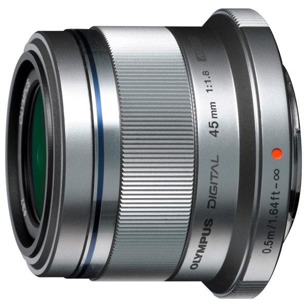 Olympus, Объектив, 45mm f/1.8 Silver