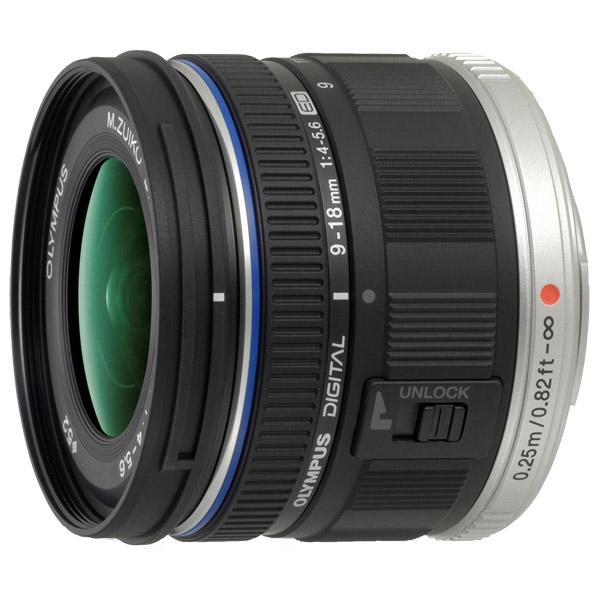 Olympus, Объектив, ED 9-18mm f/4.0-5.6 M.Zuiko Digital