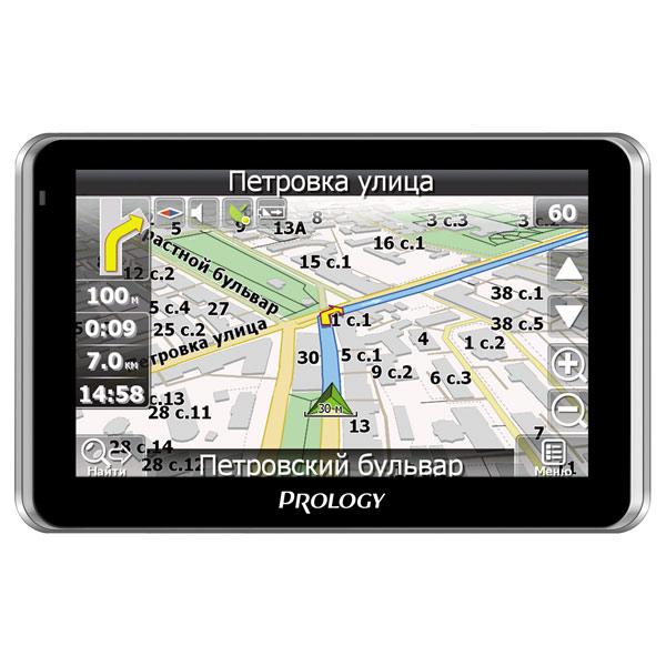 Портативный GPS-навигатор Prology iMAP-560TR навигатор lexand sa5 5 поддержка 3g модема bt навител 9 стран