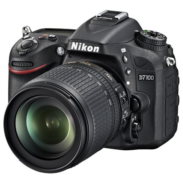 Nikon, Фотоаппарат зеркальный, D7100 Kit 18-105VR Black