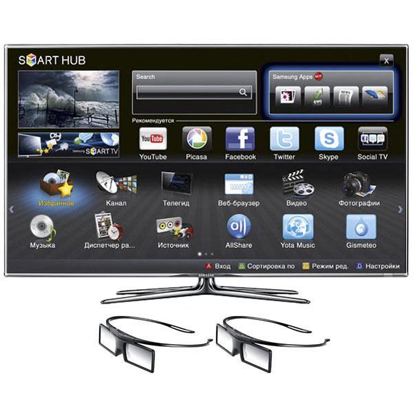 Телевизор Samsung UE40ES7207U - характеристики, техническое описание в интернет-магазине М.Видео - Москва - Москва