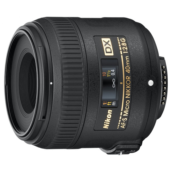 Объектив Nikon 40mm f/2.8G AF-S DX Micro Nikkor free shipping new and original for niko lens af s nikkor 70 200mm f 2 8g ed vr 70 200 protector ring unit 1c999 172