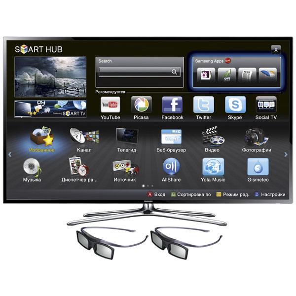 Купить Телевизор Samsung UE46F6400AK в каталоге интернет магазина М.Видео по выгодной цене с доставкой, отзывы, фотографии - Краснодар