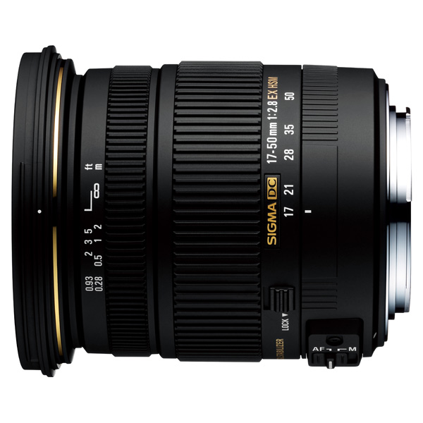 Объектив Sigma AF 17-50mm f/2.8 EX DC OS HSM Canon sigma 10 20 mm f 3 5 ex dc hsm wide angle lens for canon 1300d 600d 700d 750d 760d 60d 70d 80d t3i t5i t6 t6s