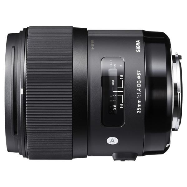 Объектив для зеркального фотоаппарата Nikon Sigma AF 35mm /1.4 DG HSM