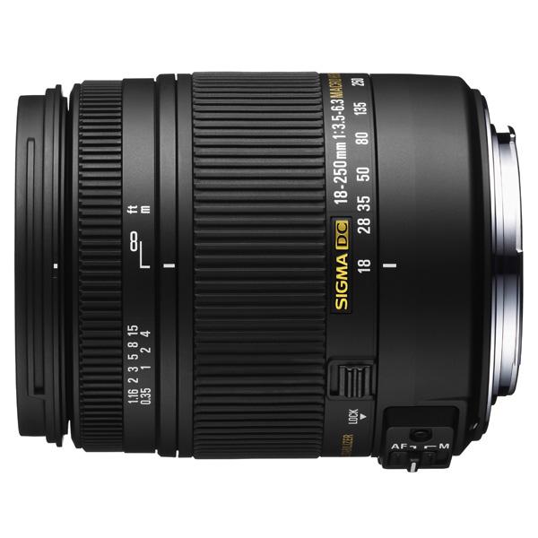 Объектив Sigma AF 18-250mm F3.5-6.3 DC MACRO OS HSM Canon купить sigma 18 200 мм для pentax