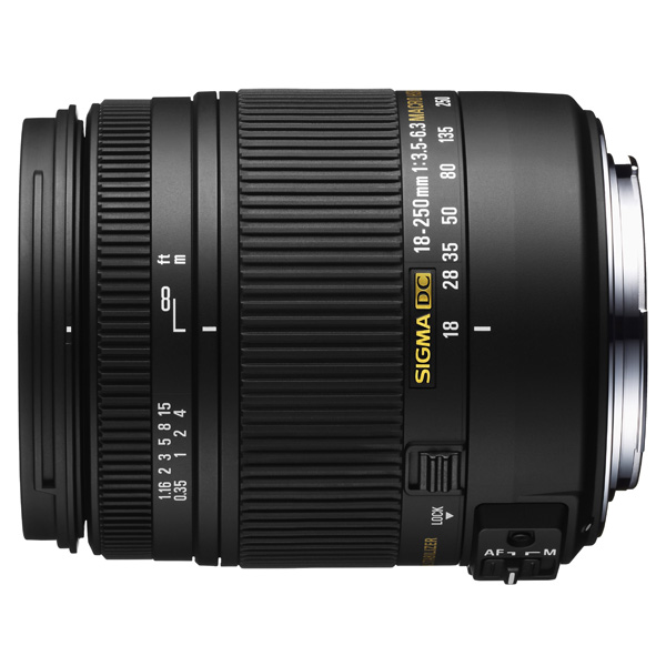 Объектив Sigma AF 18-250mm F3.5-6.3 DC MACRO OS HSM Nikon купить sigma 18 200 мм для pentax