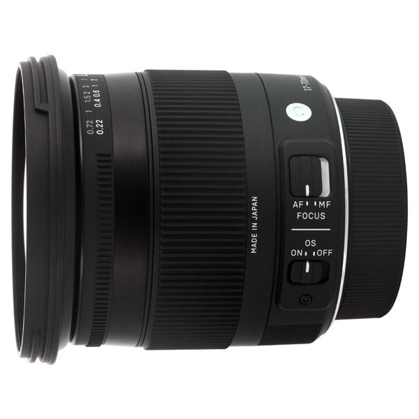 Sigma, Объектив, 17-70mm f/2.8-4 DC Macro OS HSM Nikon
