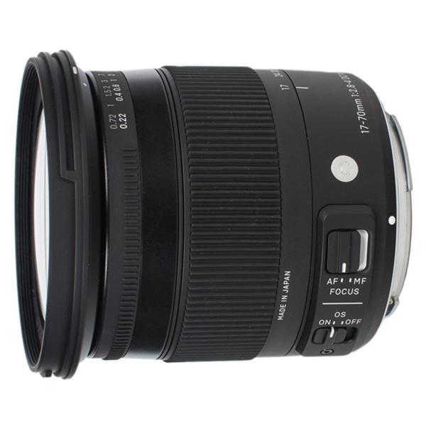 Объектив Sigma 17-70mm f/2.8-4 DC Macro OS HSM Canon