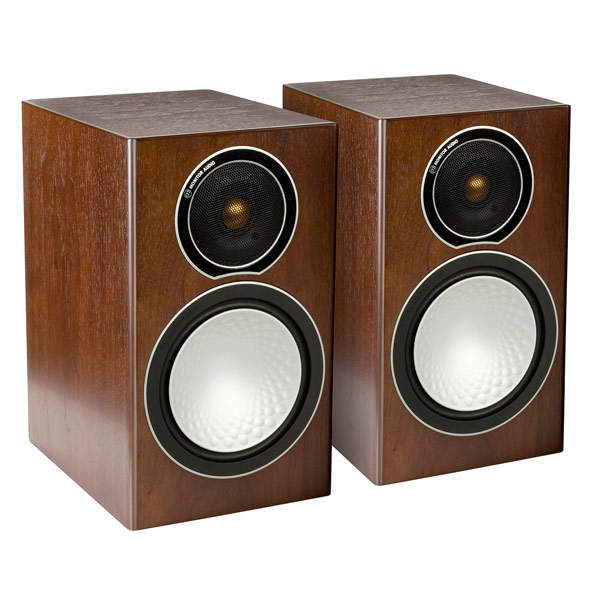 Полочные колонки Monitor Audio Silver 1 Walnut audio physic tempo 25 walnut