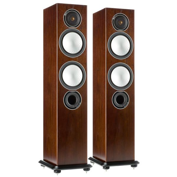 Напольные колонки Monitor Audio Silver 6 Walnut