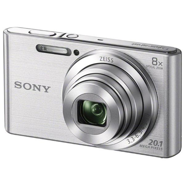 Фотоаппарат компактный Sony Cyber-shot DSC-W830 Silver фотоаппарат компактный sony cyber shot dsc w830 black