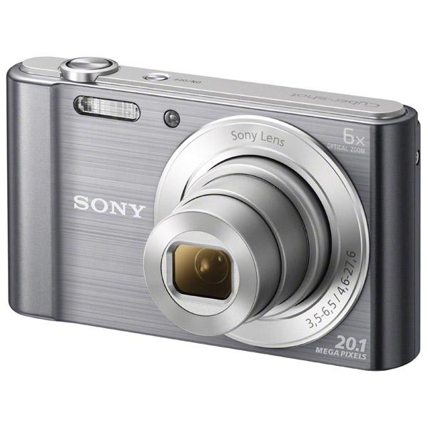 Фотоаппарат компактный Sony Cyber-shot DSC-W810 Silver sony cyber shot dsc w810 silver цифровой фотоаппарат