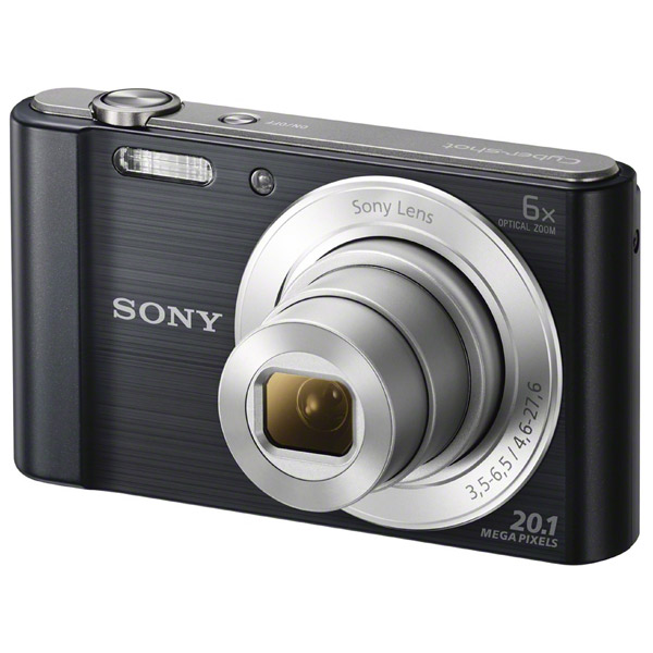 Фотоаппарат компактный Sony Cyber-shot DSC-W810 Black карта памяти sony ms pro duo 32gb