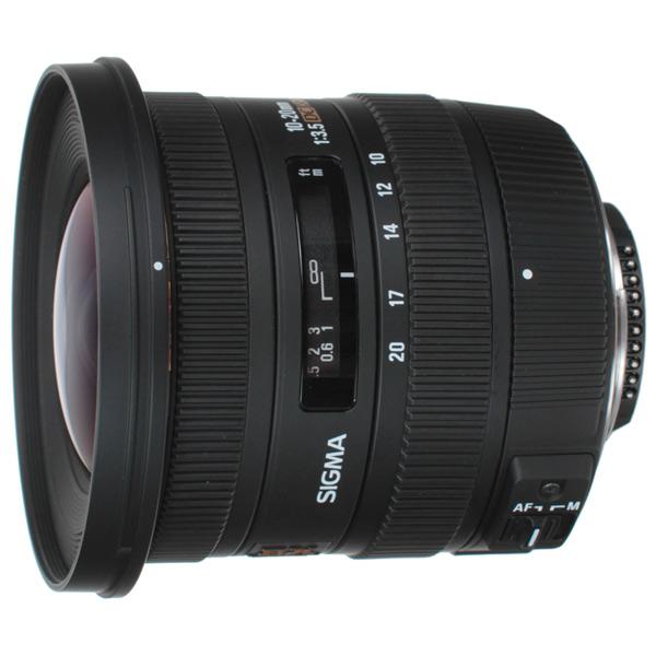 Объектив Sigma 10-20mm f/3.5 EX DC HSM Nikon привод бесконтактного смыва geberit sigma 10 115 890 sn 5 нержавеющая сталь