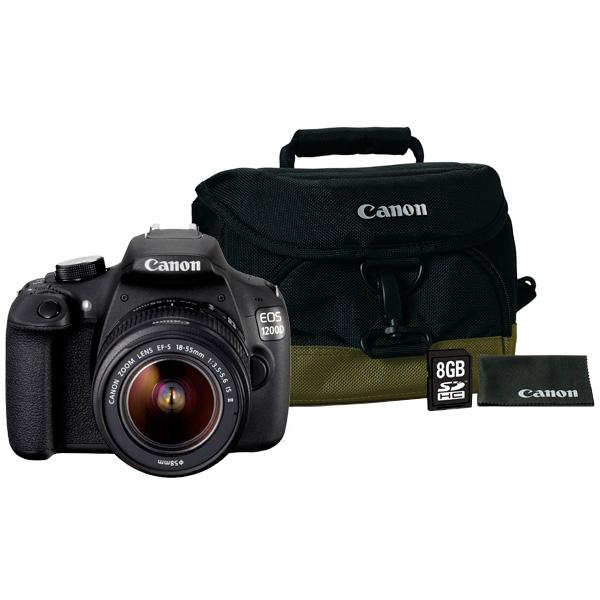 Фотоаппарат зеркальный Canon EOS 1200D 18-55IS Kit + Bag