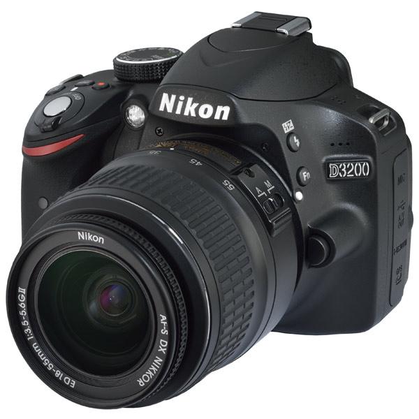 Фотоаппарат зеркальный Nikon D3200+18-55 II Kit - характеристики, техническое описание в интернет-магазине М.Видео - Москва - Москва