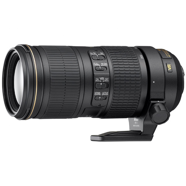 Объектив премиум Nikon AF-S Nikkor 70-200mm f/4G ED VR new and original for niko lens af s zoom nikkor ed 24 70mm f 2 8g if 24 70 focus fixed ring unit 1c999 535