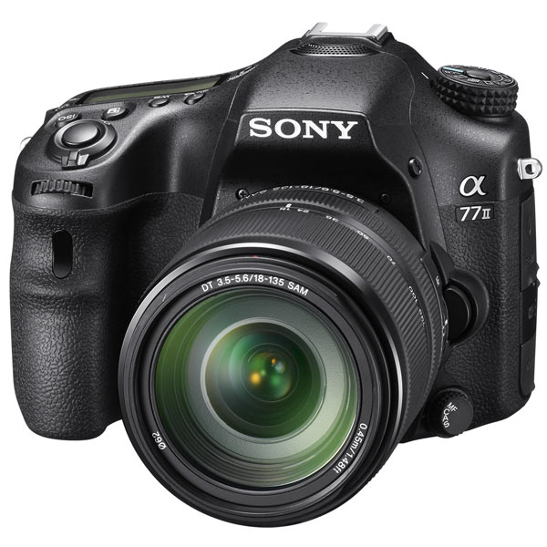 все цены на Фотоаппарат зеркальный Sony Alpha ILCA-A77 II Kit 18-135 Black (ILCA-77M2M) онлайн