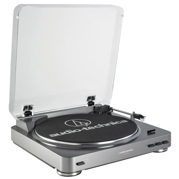 Проигрыватель виниловых дисков Audio-Technica AT-LP60-USB головка звукоснимателя audio technica at f2