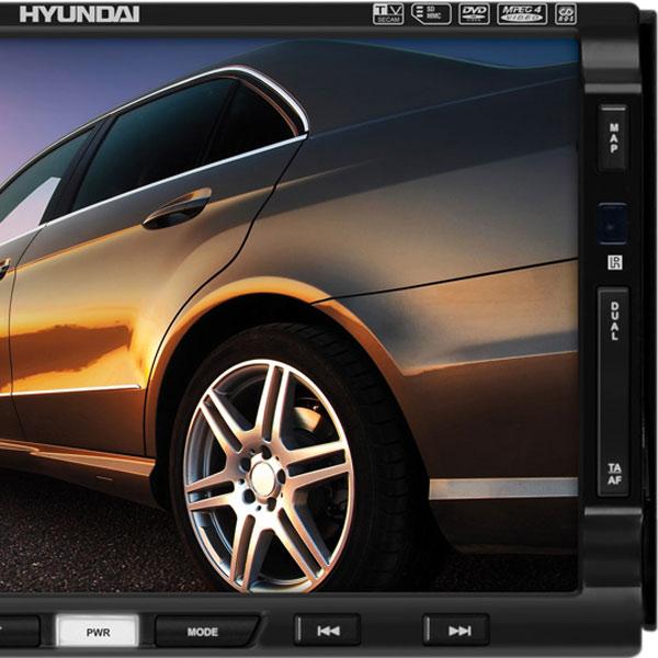 навигационная медиа система hyundai h-cmd2009g black/white: