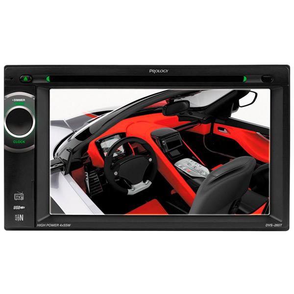 Автомобильная магнитола с DVD + монитор Prology DVS-265T