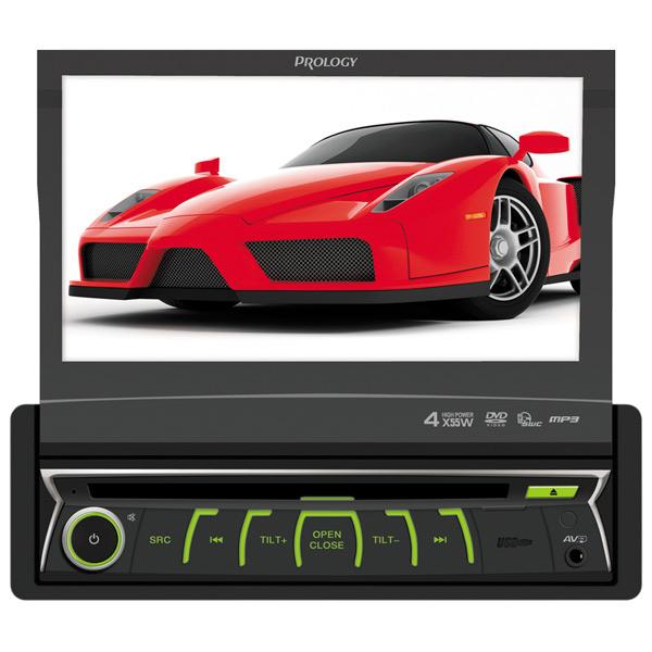 Автомобильная магнитола с DVD + монитор Prology MDD-720 автомобильная медиастанция mystery mdd 7007