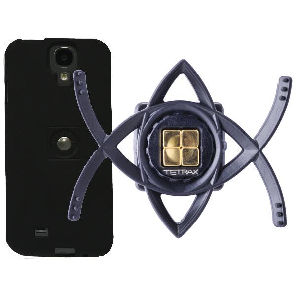 Автомобильный держатель Tetrax Bundle Samsung Galaxy S4 Black